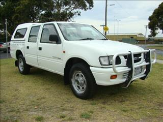 1998  HOLDEN RODEO LX Crew Cab TF R9 UTILITY