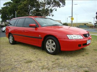 2002  HOLDEN COMMODORE ACCLAIM VY WAGON