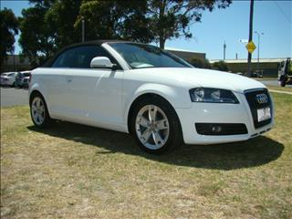 2008  AUDI A3 AMBITION S TRONIC 8P CONVERTIBLE
