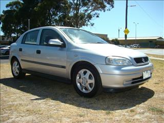 2001  HOLDEN ASTRA CD TS HATCHBACK