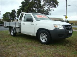 2008  MAZDA BT-50 DX UNY0W3 CAB CHASSIS