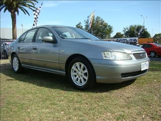 2004  FORD FALCON FUTURA BA MK II SEDAN