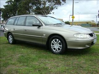 2002  HOLDEN COMMODORE Acclaim VX II WAGON