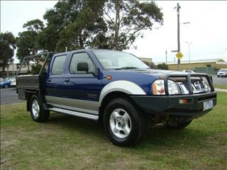 2002  NISSAN NAVARA ST-R DUAL CAB D22 MY02 UTILITY