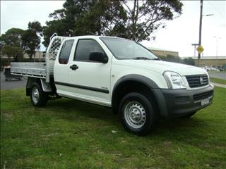 2005  HOLDEN RODEO LX EXTENDED CAB RA MY05 CAB CHASSIS