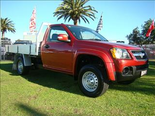 2008  HOLDEN COLORADO LX SINGLE CAB RC CAB CHASSIS