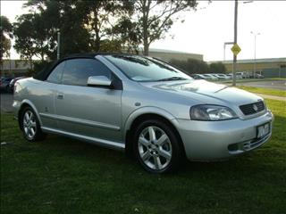 2001  HOLDEN ASTRA  TS CONVERTIBLE