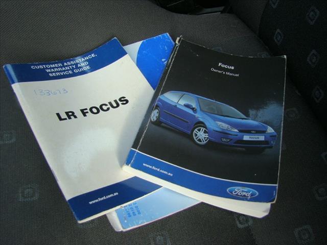 2004  FORD FOCUS SR CL LR MY2003 SEDAN