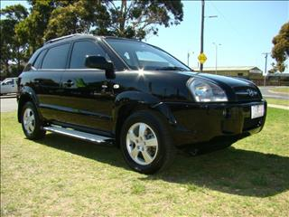 2007  HYUNDAI TUCSON CITY ELITE JM MY07 WAGON