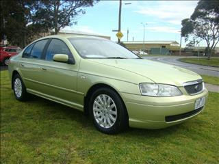 2005  FORD FAIRMONT  BA Mk II SEDAN