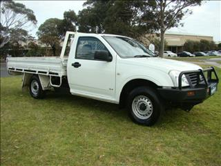 2004  HOLDEN RODEO DX SINGLE CAB RA CAB CHASSIS