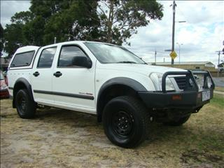 2004  HOLDEN RODEO LX DUAL CAB RA UTILITY