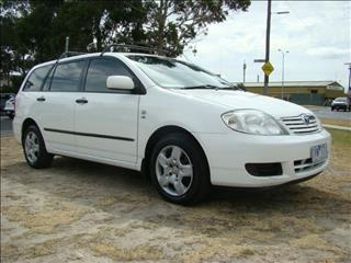 2005  TOYOTA COROLLA ASCENT ZZE122R 5Y WAGON