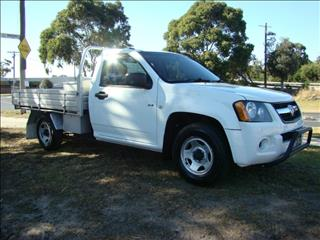 2008  HOLDEN COLORADO DX SINGLE CAB RC CAB CHASSIS