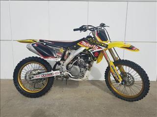 2007  SUZUKI RMZ250 MOTOCROSS  CYCLE