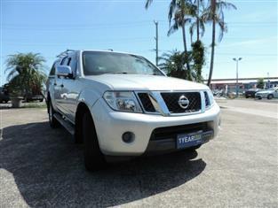 2011 Nissan Navara ST-X D40 MY11 Utility