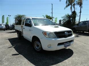2007 Toyota Hilux SR KUN16R MY07 Cab Chassis