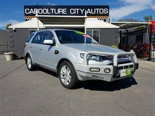2011 Ford Territory TS Seq Sport Shift SZ Wagon