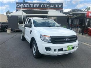 2012 Ford Ranger 4x2 PX XL Cab Chassis