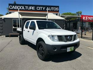 2011 Nissan Navara RX D40 S6 MY12 Cab Chassis