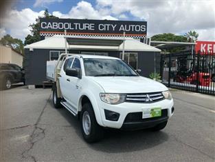2012 Mitsubishi Triton GLX Double Cab MN MY12 Utility