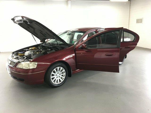 2002 Ford Fairmont Fairmont BA Sedan