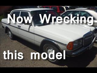 1983 MERCEDES-BENZ 230 E W123 4D SEDAN