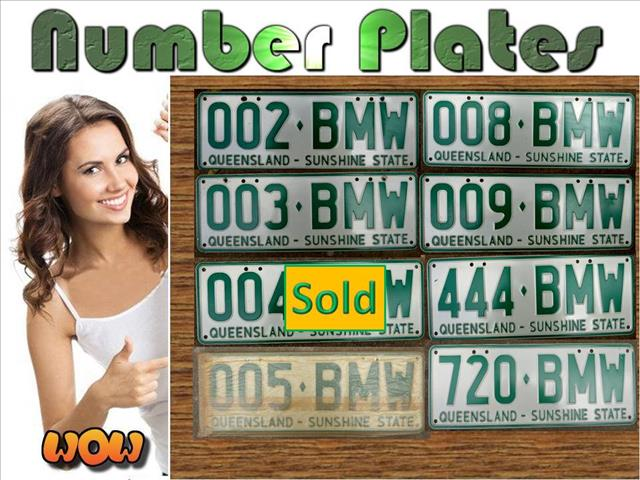 BMW Plates for Sale