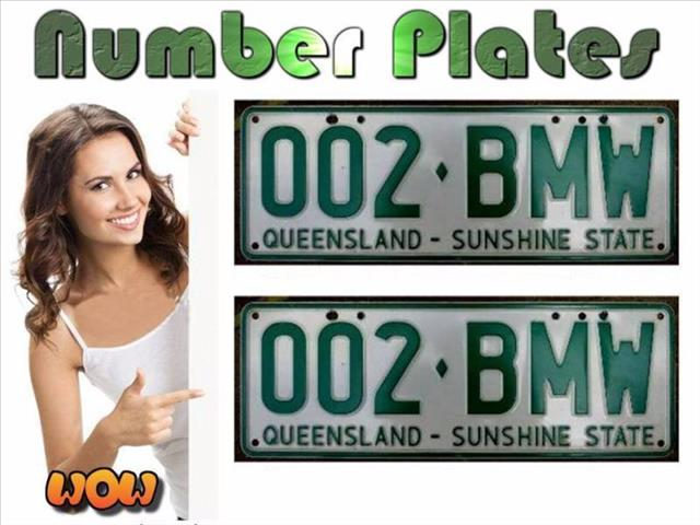 BMW License Plates for Sale