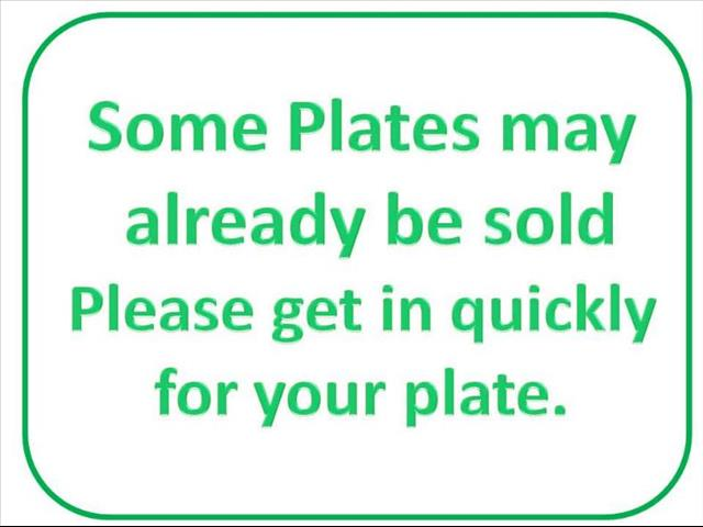 License Plate for Sale