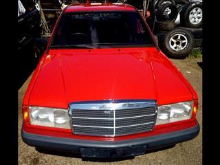 1991 MERCEDES-BENZ 190 E 1.8 W201 4D SEDAN