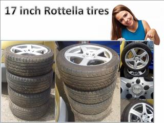 17 inch Rottella tires of a Ford