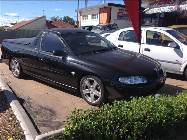 2001 HOLDEN COMMODORE VU UTILITY
