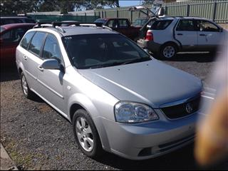 2009 HOLDEN VIVA JF MY09 4D WAGON