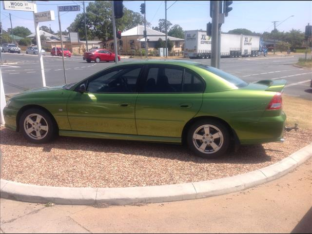 2002 HOLDEN COMMODORE S VY 4D SEDAN