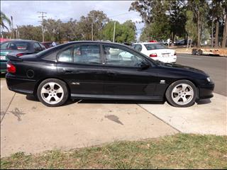 2002 HOLDEN COMMODORE SS VXII 4D SEDAN