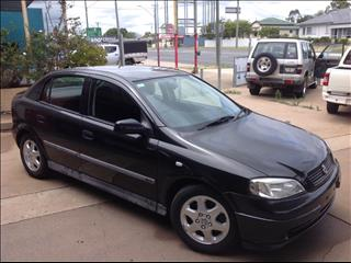 2000 HOLDEN ASTRA CD TS 5D HATCHBACK