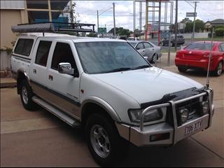 2001 HOLDEN RODEO LX (4x4) TFR9 C/CHAS