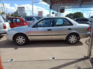 2001 TOYOTA COROLLA ASCENT AE112R 4D SEDAN