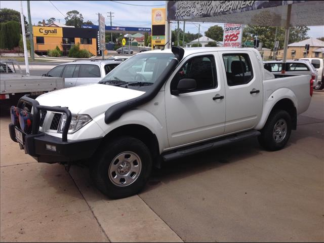 2007 NISSAN NAVARA DX (4x4) D22 SERIES 2 DUAL CAB P/UP