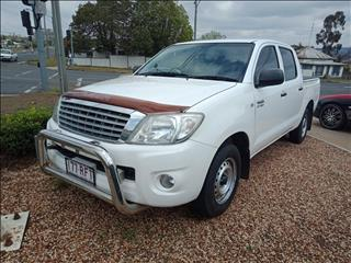 2010 TOYOTA HILUX WORKMATE TGN16R 09 UPGRADE DUAL CAB P/UP