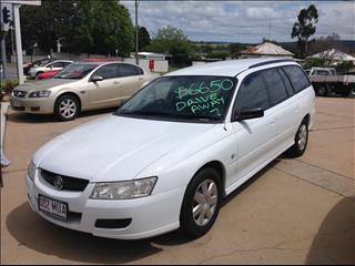 2006 HOLDEN COMMODORE ACCLAIM D/FUEL VZ MY06 UPGRADE 4D WAGON