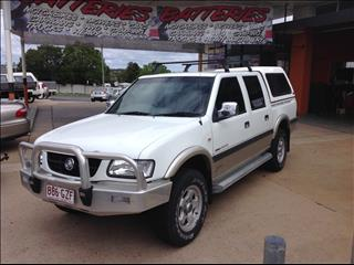 2002 HOLDEN RODEO LT (4x4) TFR9 MY02 CREW CAB P/UP