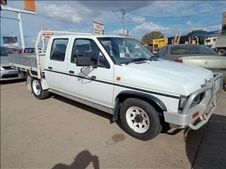 1993 NISSAN NAVARA DX (4x2) DUAL CAB P/UP