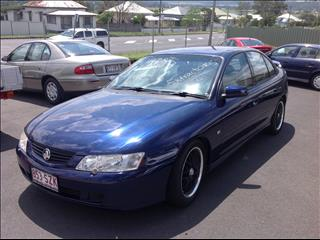 2003 HOLDEN COMMODORE S VY 4D SEDAN