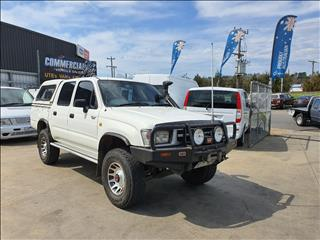 1997 TOYOTA HILUX (4x4) LN167R DUAL CAB P/UP