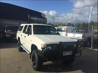 1998 TOYOTA HILUX (4x4) LN167R DUAL CAB P/UP