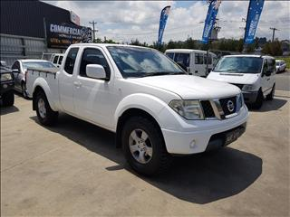2008 NISSAN NAVARA ST-X (4x4) D40 KING CAB P/UP