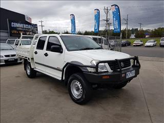 2006 HOLDEN RODEO LX (4x4) RA MY06 UPGRADE CREW C/CHAS