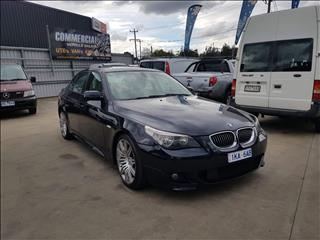 2006 BMW 5 30i SPORT E60 MY06 UPGRADE 4D SEDAN